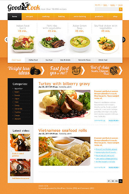 32984-WordPress Themes - GoWebBaby.Com