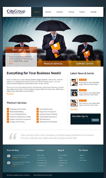 33231-WordPress Themes - GoWebBaby.Com