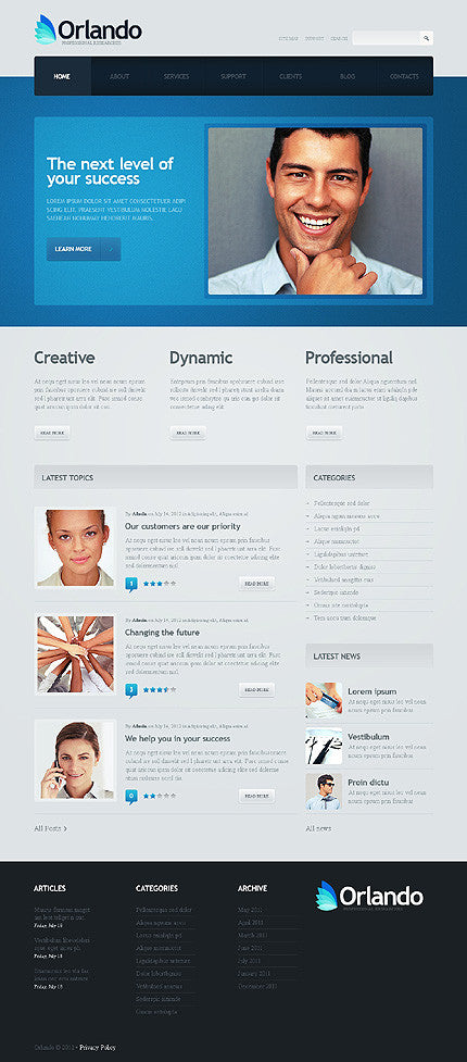 40793-WordPress Themes - GoWebBaby.Com