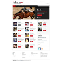 Eticket WooCommerce Website Design - GoWebBaby.Com