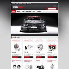 Spare Parts WooCommerce Website Design - GoWebBaby.Com