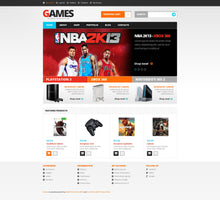 Games Store WooCommerce Website Design - GoWebBaby.Com