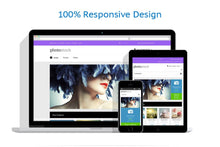 Photo Stock Online Magento Store Design - GoWebBaby.Com