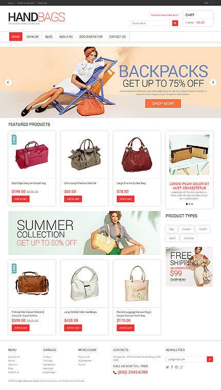48457-Shopify Themes - GoWebBaby.Com