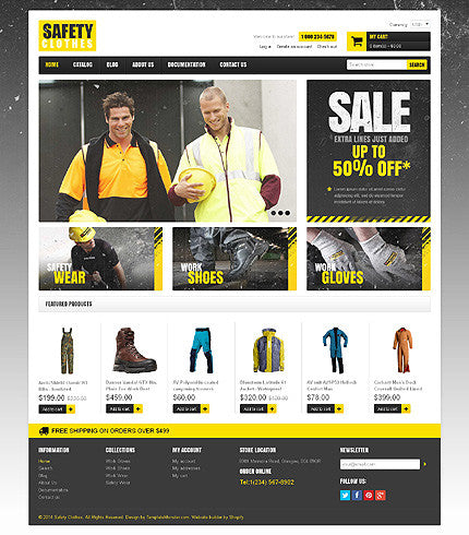 48931-Shopify Themes - GoWebBaby.Com