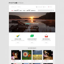 Photography Photo Store Shopify Website Design - GoWebBaby.Com
