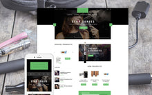 Tobacco Magento Website Design - GoWebBaby.Com