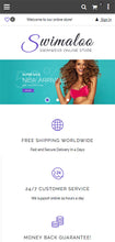 Swimwear Magento Website Design - GoWebBaby.Com