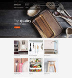 kitchen supplies Magento Website Design - GoWebBaby.Com