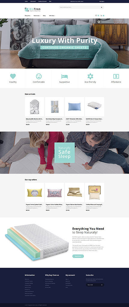 Home Accessories Magento Website Design - GoWebBaby.Com