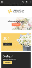 Flower Shop Online Magento Website Design - GoWebBaby.Com