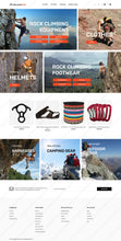 Travel Supplies Store Magento 2 Website Design - GoWebBaby.Com