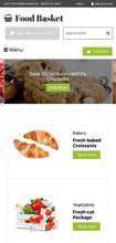 Online Food Basket - Shopify Themes - GoWebBaby.Com