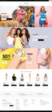 Spring Clothing Magento Website Design - GoWebBaby.Com