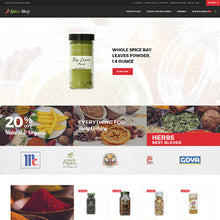 Spice Shop - Magento Website Design - GoWebBaby.Com