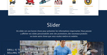 Industrial Tools - Shopify Themes - GoWebBaby.Com