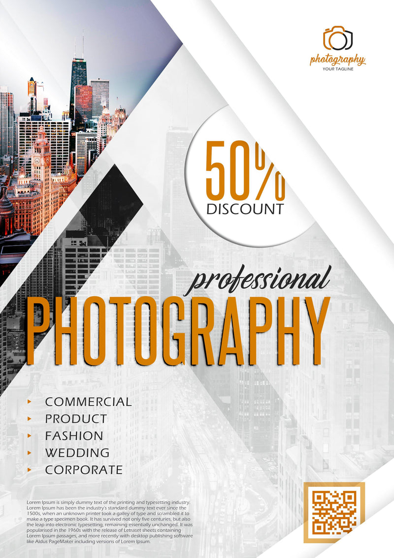 Flyer Templates - Professional Photography For Website Marketing - GoWebBaby.Com
