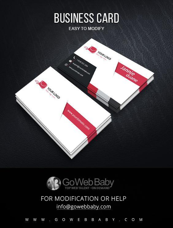 Business card for bag store - GoWebBaby.Com
