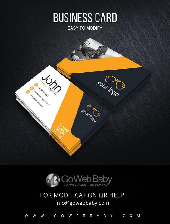 Business card For Fashion Photography - GoWebBaby.Com