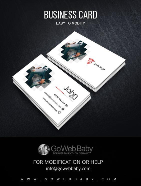 Business Card For Men's Fashion Boutique - GoWebBaby.Com