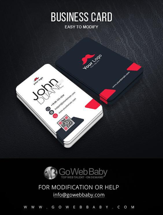 Creative Business Card For Website Marketing - GoWebBaby.Com