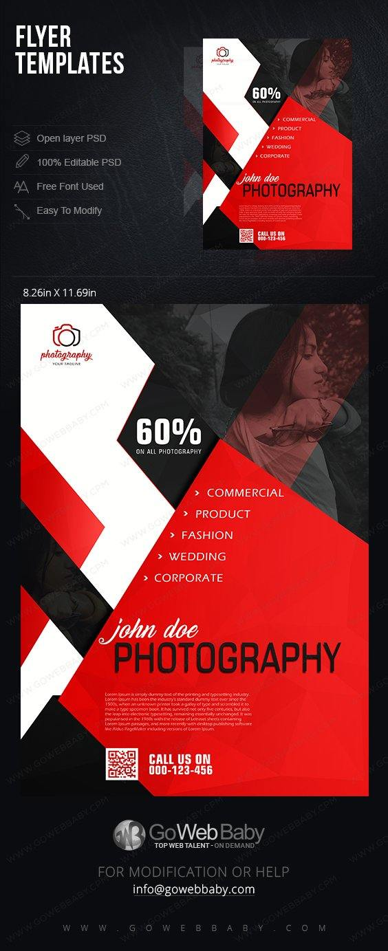 Flyer Templates - Creative Photography For Website Marketing - GoWebBaby.Com