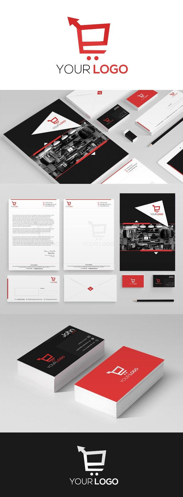 Fashion Corporate Kit For Website Marketing