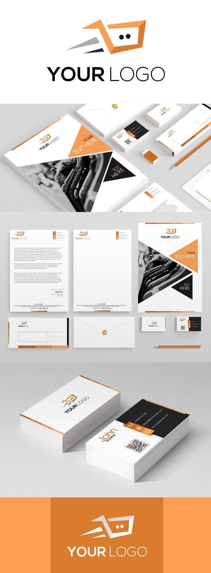 Duotone Corporate kit for website marketing - GoWebBaby.Com