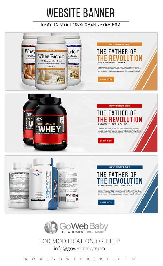 Website Banner - Nutrition For Website Marketing - GoWebBaby.Com
