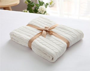 Vanilla Luxury Spring Blanket