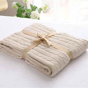 Beige Luxury Spring Blanket