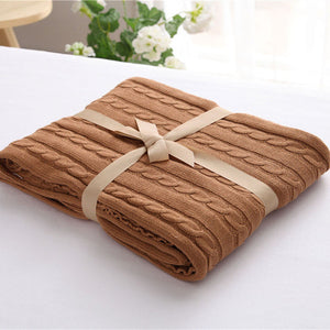 Khaki Luxury Spring Blanket