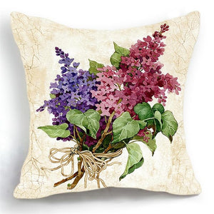 Luxury Floral Cushion Cover