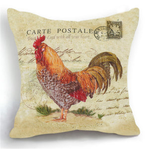 Farmhouse Chicken Cushion Covers