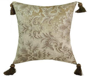 Alabaster Luxury Jacquard Pillow