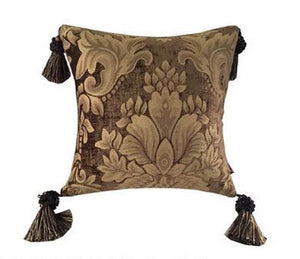 Chocolate Luxury Jacquard Pillow
