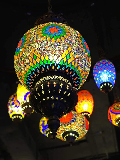 Moroccan Lanterns Lightning