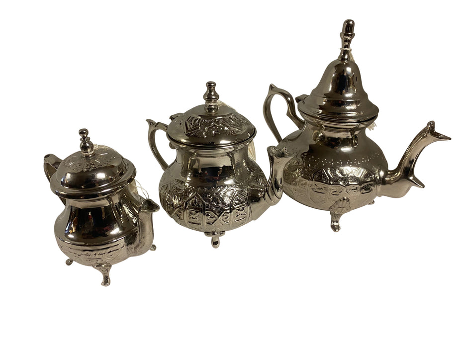 Silver Moroccan Tea Pot