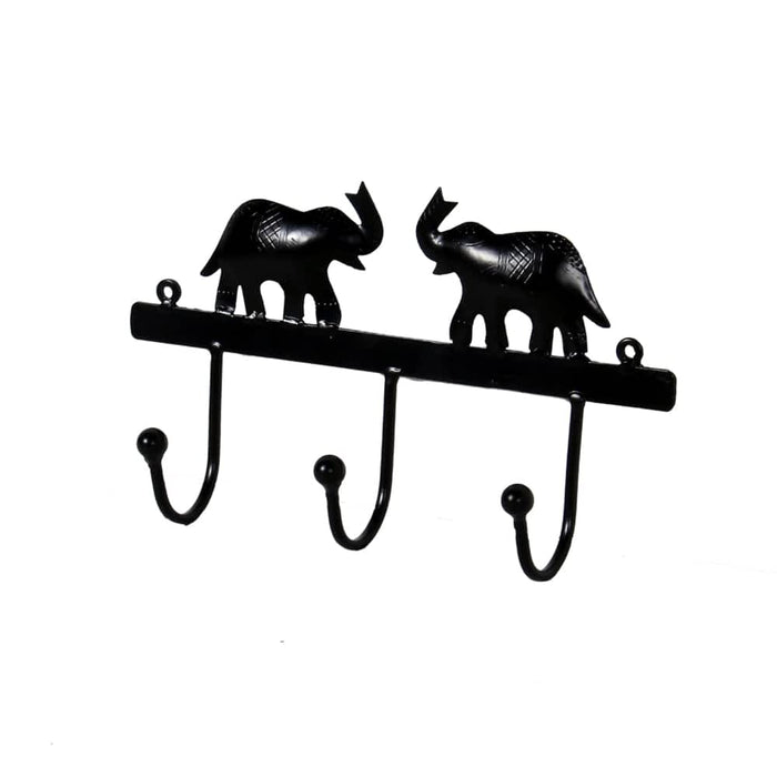 Elephant Iron Hanger Moroccan Metal Decor