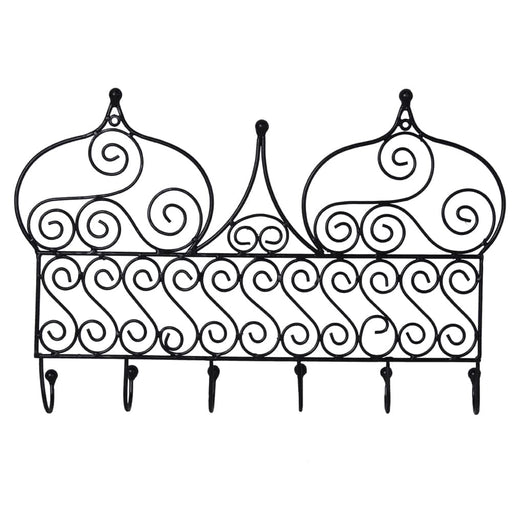 Iron Hanger Moroccan Metal Decor - Marrakech - Features A Traditional