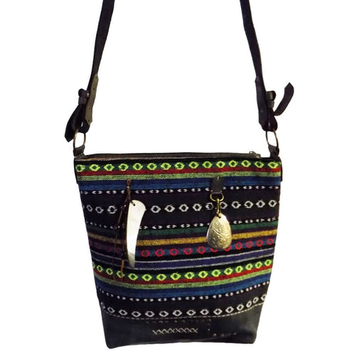Moroccan Bag and Purse Hand Made Leather Shoulder Dark