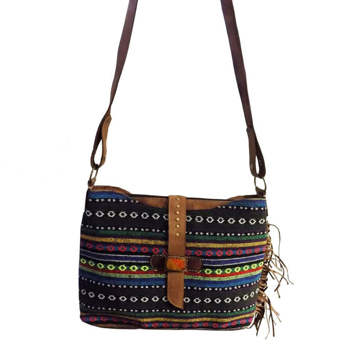Moroccan Bag and Purse Hand Made Leather Shoulder Bag