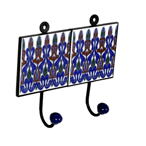 Indian Ceramic Double Hangers