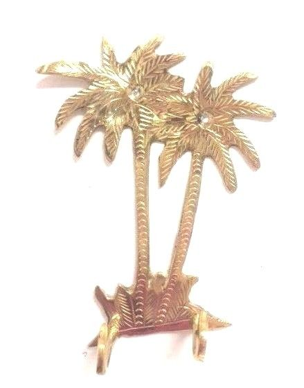 Moroccan Wall Mount Hook Palm Tree Shape