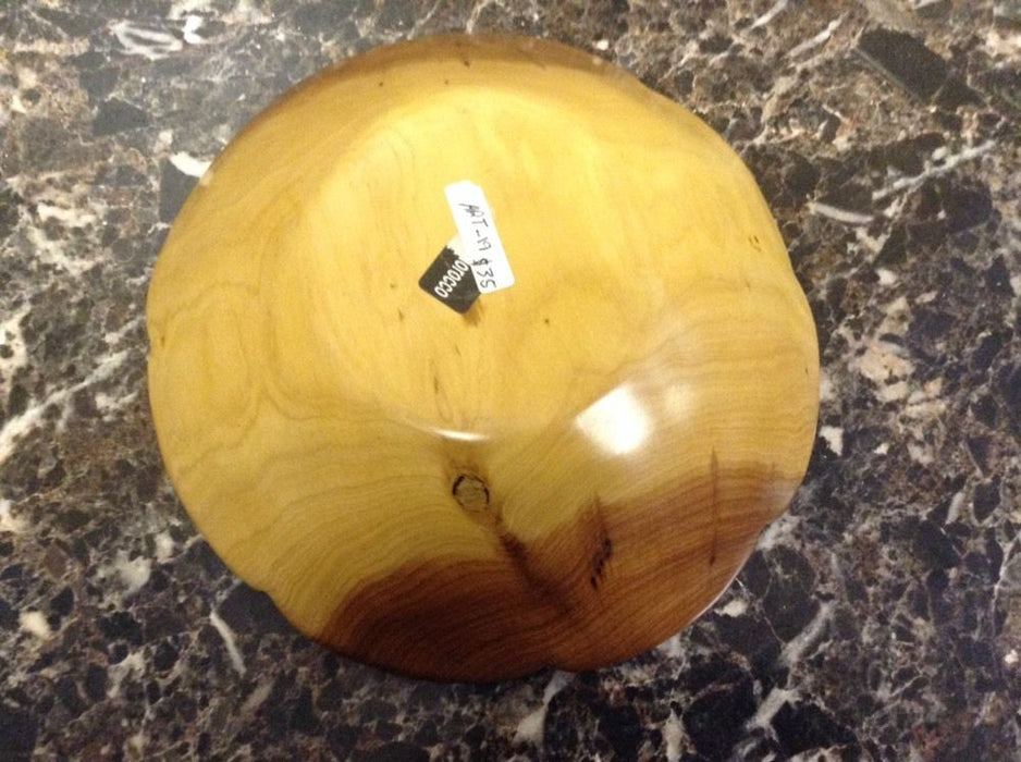 Moroccan Exotic Burlwood Thuya Wood Decor Centerpiece Plate Bowl A