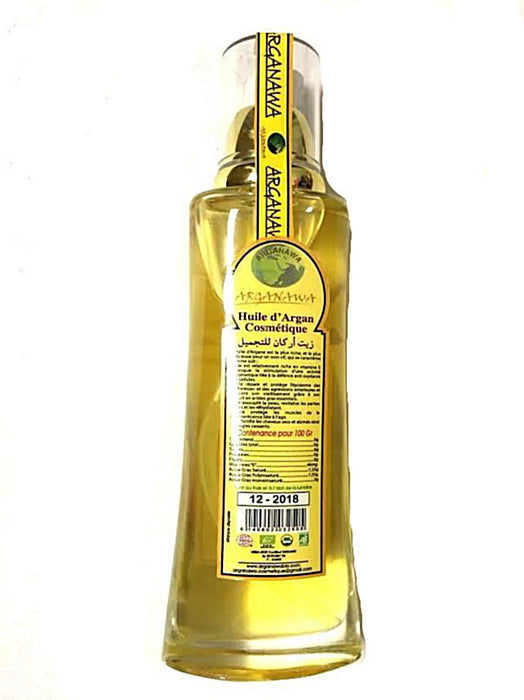 Moroccan 100% Argan Oil Hair Skin Massage Spray Organic Bio 3.4 Fl OZ 100 ml