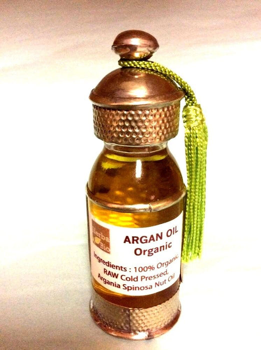 Essence of Argan 100% Pure Organic Moroccan Argan Oil Gift Bottle Skin Massage