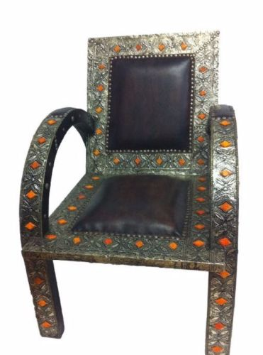 Moroccan Metalwork Design Chair Easy-chair