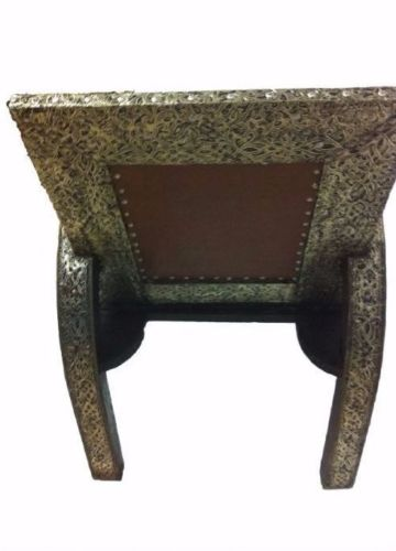 Moroccan Metalwork Design Chair