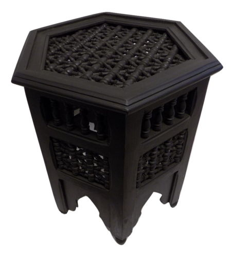 Moroccan Octagonal Moucharabieh Side Table